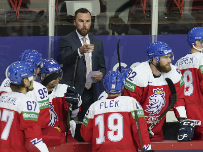 Filip Pešán a hokejisti