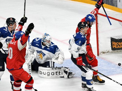 Českí hokejisti porazili aj