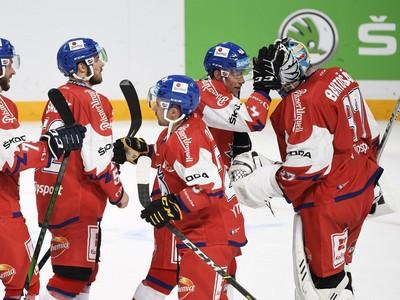 Radosť hokejistov Česka