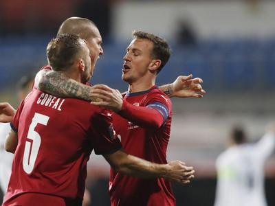 Radosť českých futbalistov