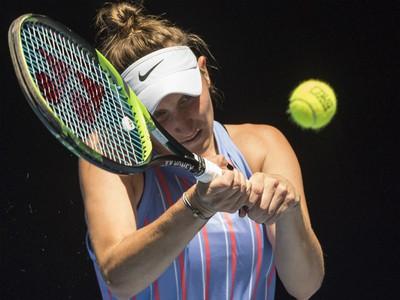 Na snímke česká tenistka Markéta Vondroušová