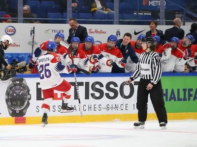 Gólové oslavy hokejistiek Česka