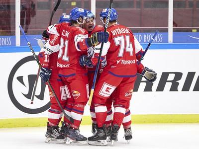 Gólové oslavy hokejistov Česka