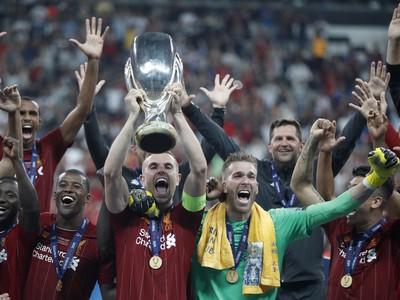 Oslavy hráčov Liverpoolu zo