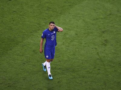 Smutný Thiago Silva