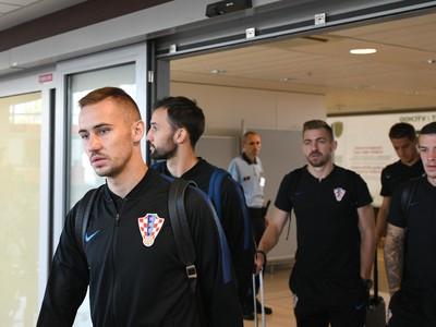 Prílet Vatrenov do Bratislavy