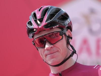 Britský cyklista Ineosu Chris