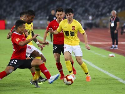 Snímka zo zápasu čínskej