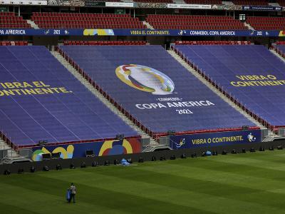 Pohľad na štadión Copa
