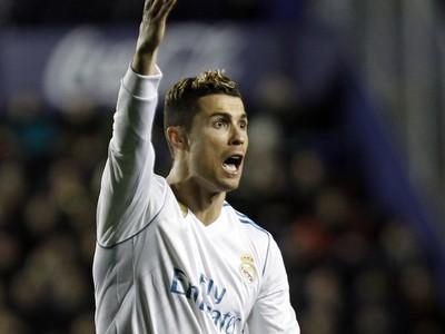 Cristiano Ronaldo ďalšie zaváhanie