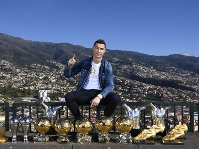 Cristiano Ronaldo s individuálnymi