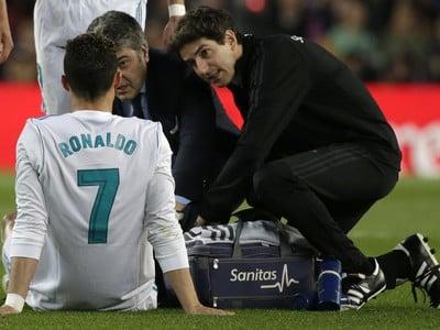 Futbalista Realu Madrid Cristiano