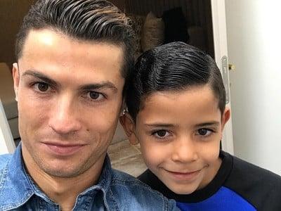 Cristiano Ronaldo so synom