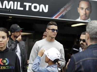 Cristiano Ronaldo navštívil kráľa