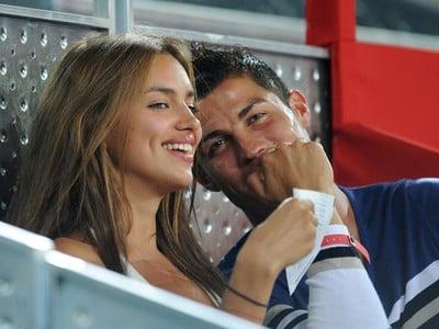 Cristiano Ronaldo a Irina