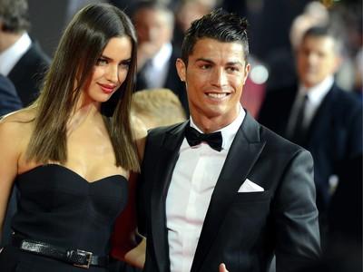 Cristiano Ronaldo a Irina Šajková