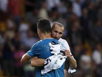 Cristiano Ronaldo a Giorgio