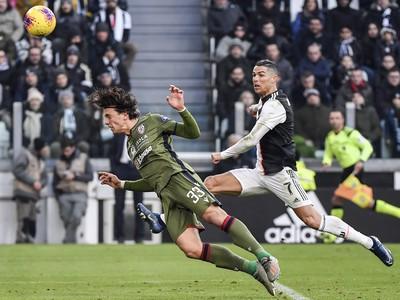 Cristiano Ronaldo a Luca