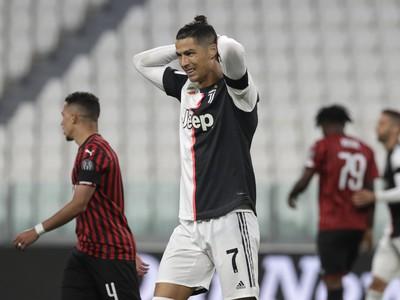 Cristiano Ronaldo v odvete Talianskeho pohára