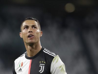 Hráč Juventusu Cristiano Ronaldo