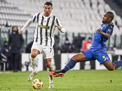 Cristiano Ronaldo v súboji