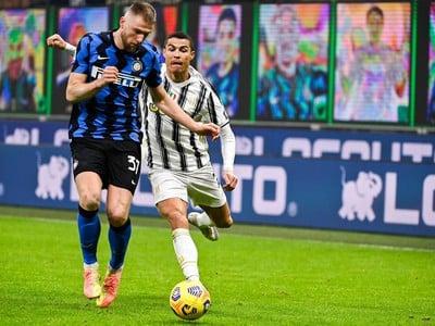 Milan Škriniar a Cristiano