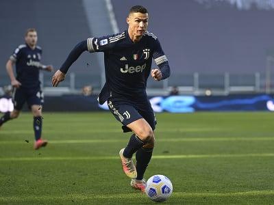 Cristiano Ronaldo pri lopte