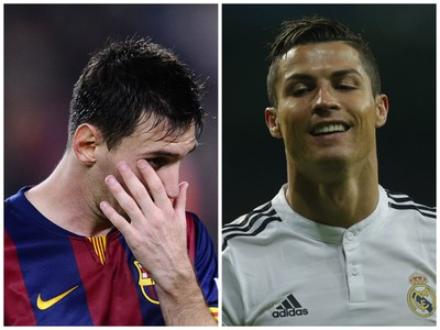 Lionel Messi a Cristiano