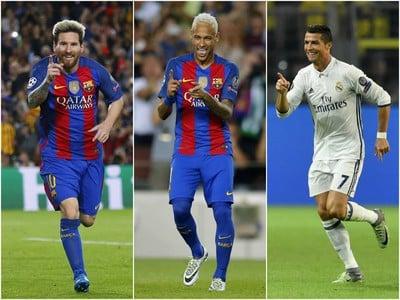 Lionel Messi, Neymar a
