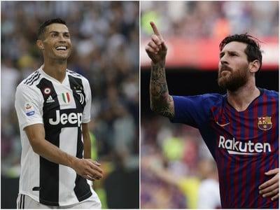 Cristiano Ronaldo a Lionel