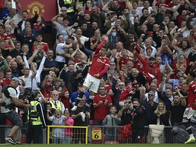 Cristiano Ronaldo opäť v drese Manchestru United