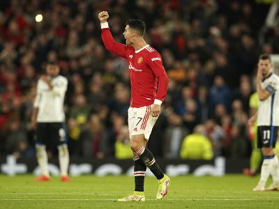 Cristiano Ronaldo oslavuje svoj
