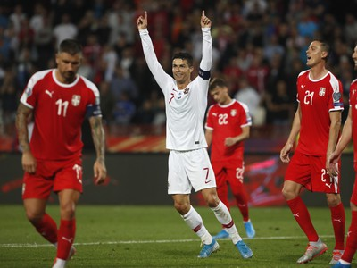 Cristiano Ronaldo opäť hrdinom Portugalska