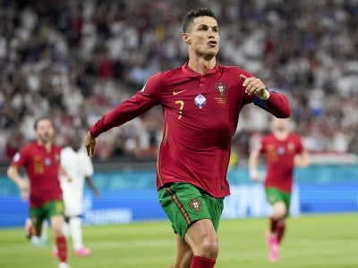 Kapitán Portugalska Cristiano Ronaldo
