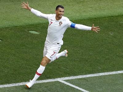 Cristiano Ronaldo sa raduje