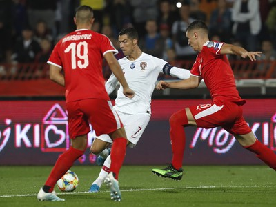 Cristiano Ronaldo, Nikola Maksimovič