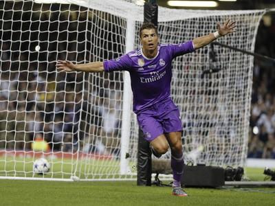 Cristiano Ronaldo a jeho gólová radosť