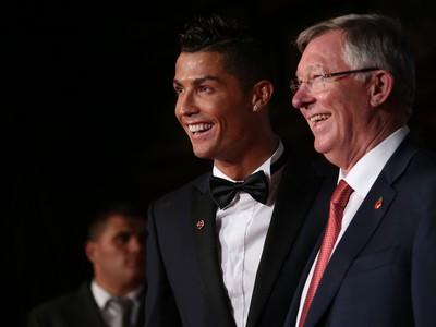 Cristiano Ronaldo so svojim