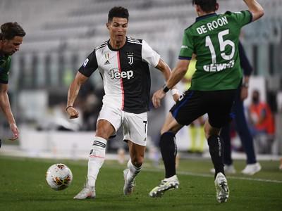Cristiano Ronaldo v akcii