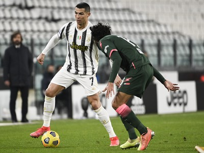 Cristiano Ronaldo a Sebastiano Luperto