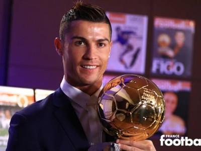 Cristiano Ronaldo vyhral štvrtú