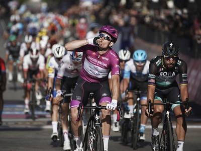 Arnaud Démare vyhral tretiu