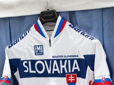 Cyklistický dres Slovensko majster MSR