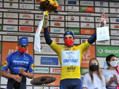 Kolumbijský cyklista Álvaro Hodeg (Deceuninck-QuickStep) si udržal žltý dres vedúceho pretekára v priebežnom poradí po 2. etape 65. ročníka Medzinárodných cyklistických pretekov Okolo Slovenska v Dolnom Kubíne