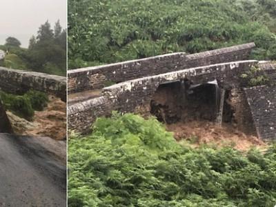 Spadnutý most