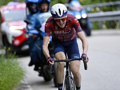 Daniel Martin počas etapy Giro d'Italia