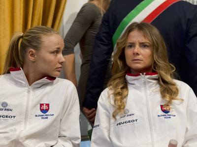 Rebecca Šramková a Daniela
