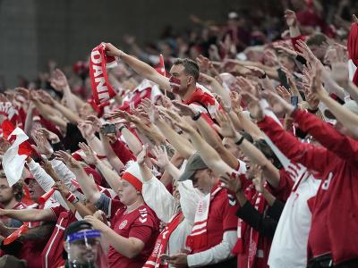 Dánski fanúšikovia