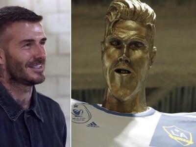 David Beckham bol zo