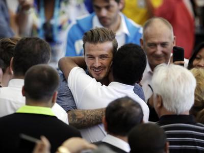 David Beckham objal Pelého